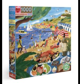 eeBoo Beach Umbrellas 1000 Piece Puzzle
