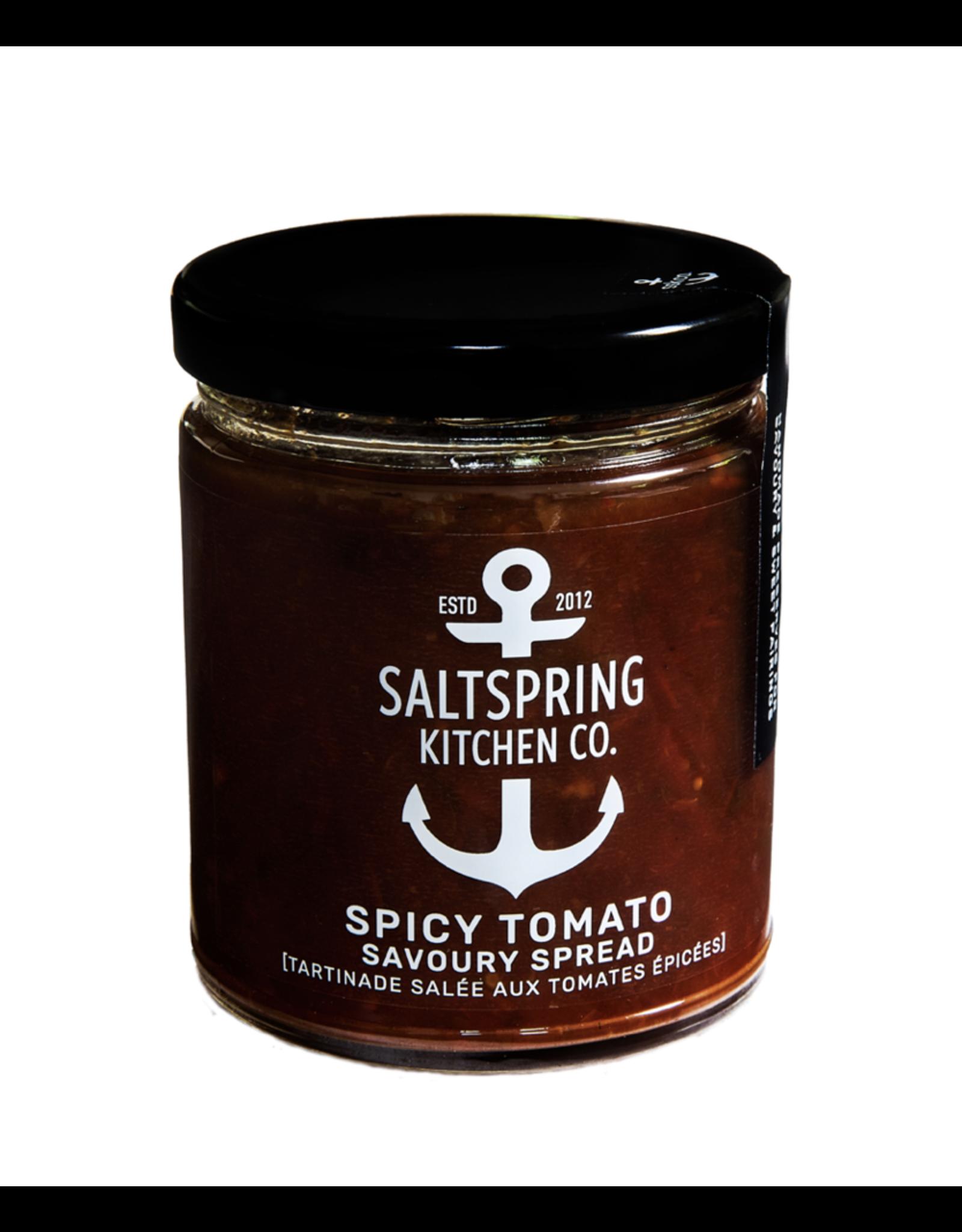 Salt Spring Kitchen Spicy Tomato Savoury Spread - 270ml