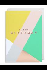 Birthday - Happy Birthday - Geometric