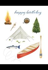 Birthday - Happy Birthday Camping