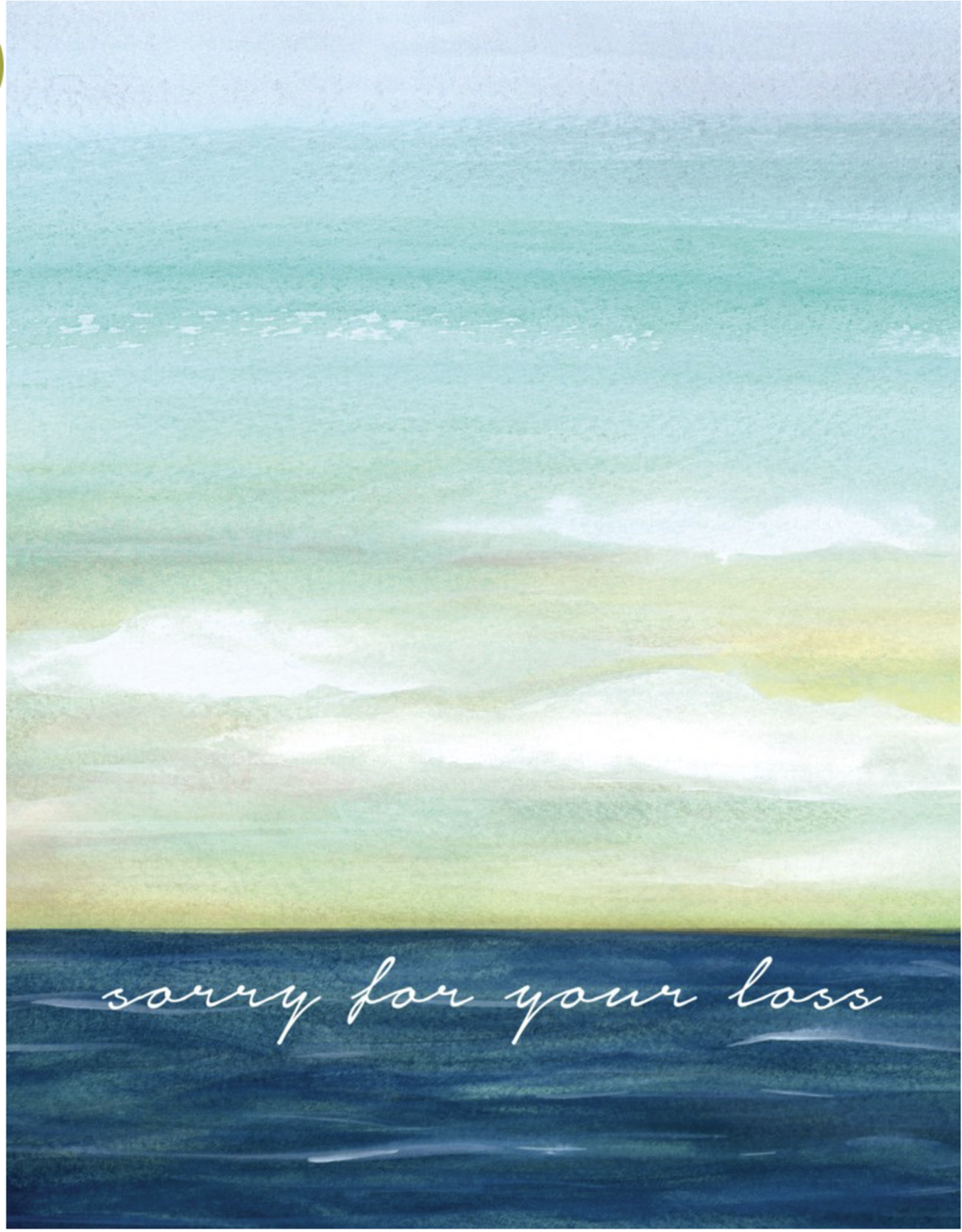 Sympathy - sorry for your loss