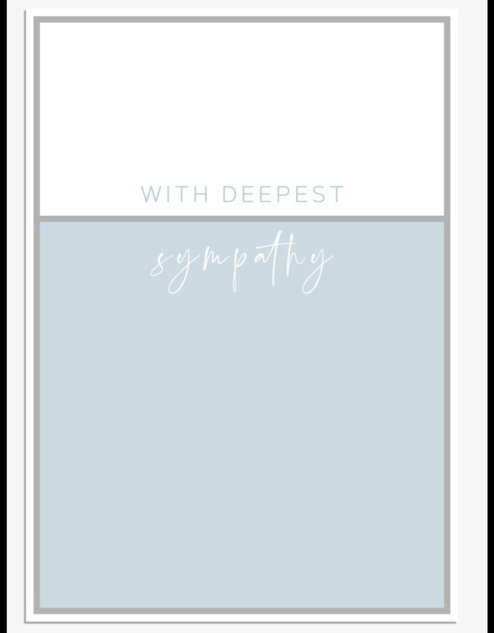 Sympathy - With deepest sympathy