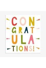 Congratulations - Multicolour Congratulations