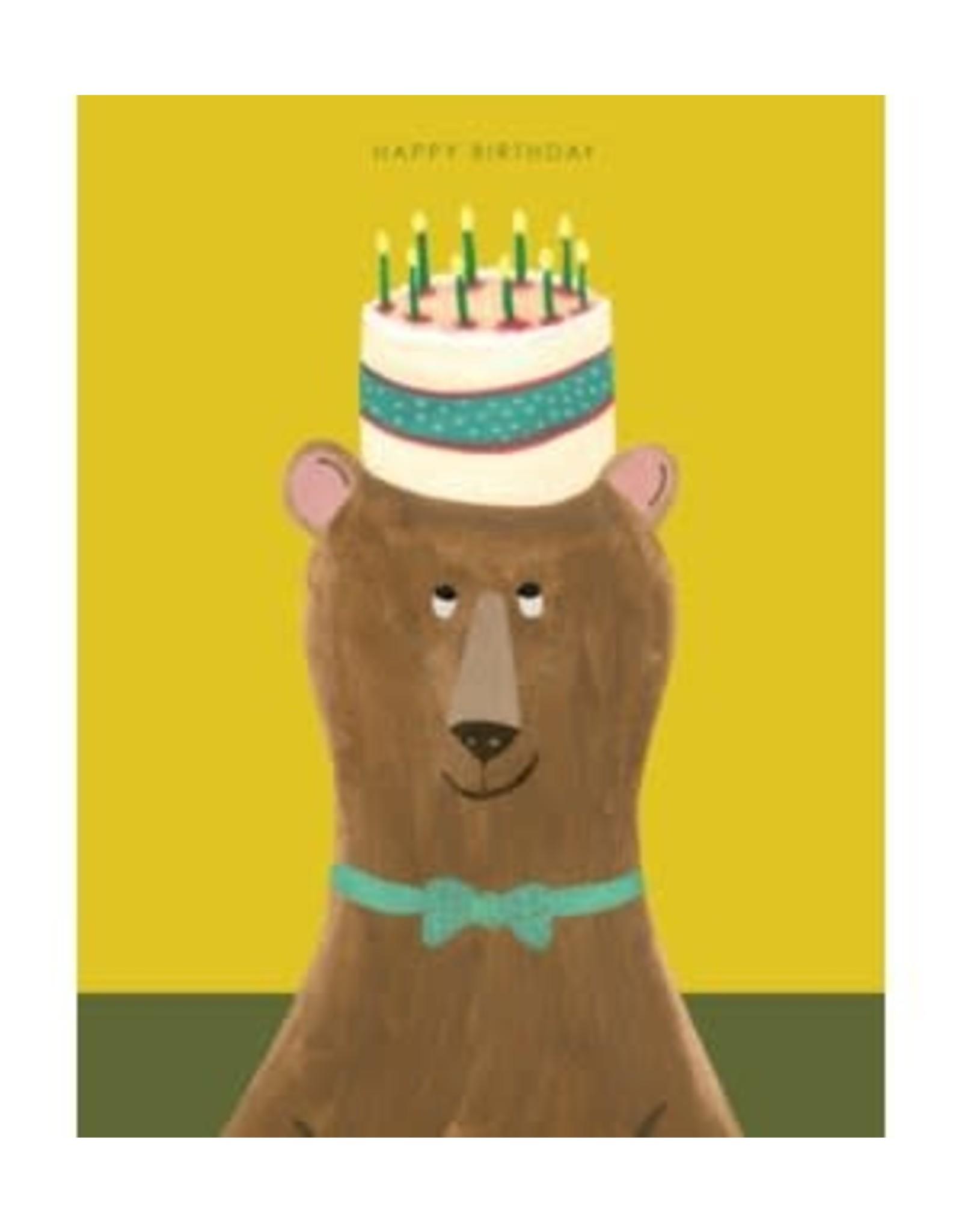 Birthday - Bear with Cake