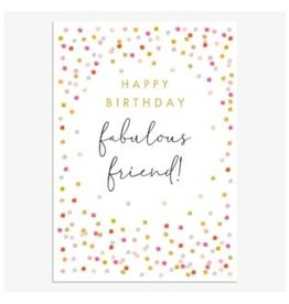 Birthday - Fabulous Friend