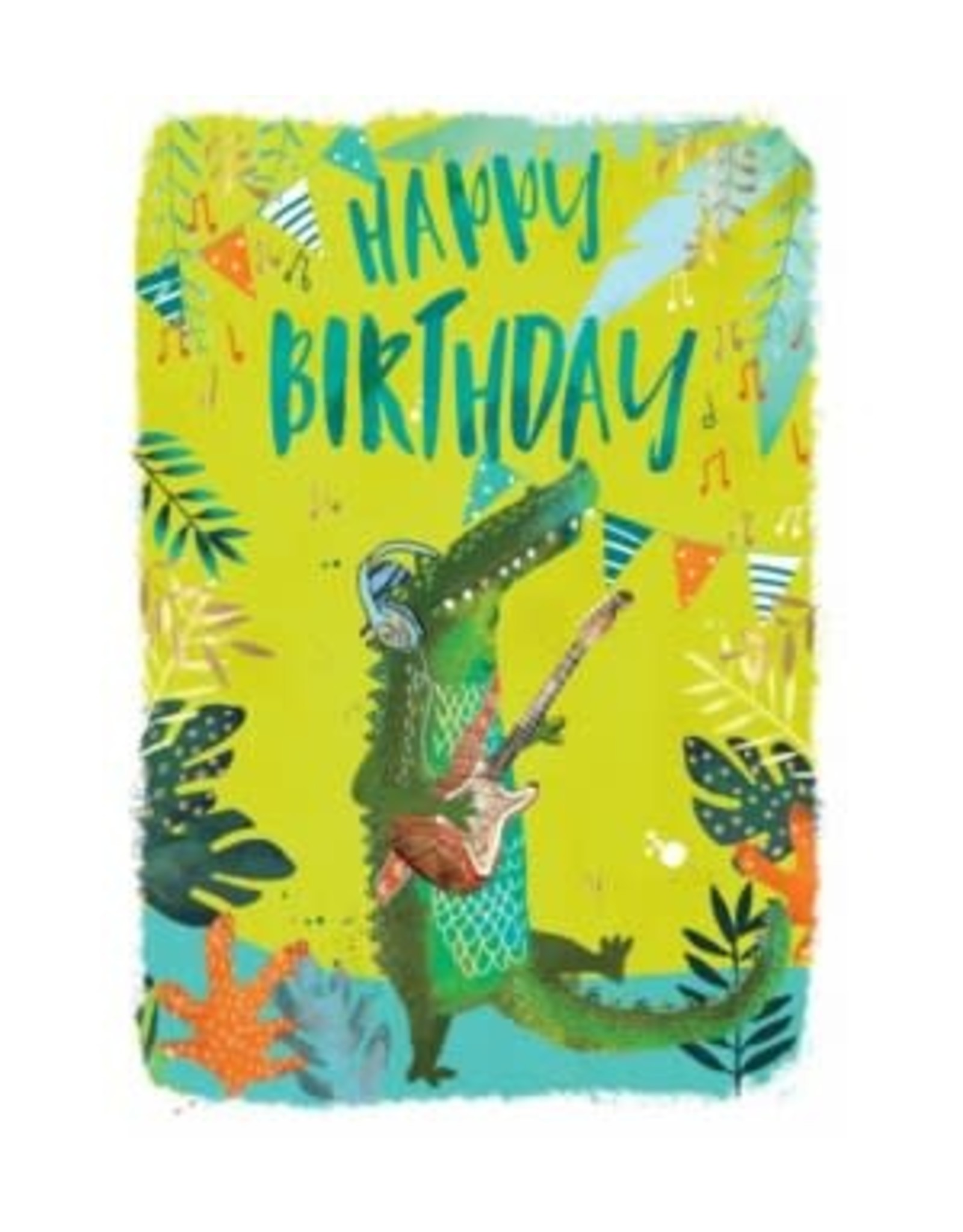 Birthday - Rocking Croc