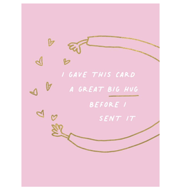 Thinking of You- I gave this card a great big hug...
