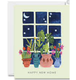 New Home - Happy New Home Starry Window