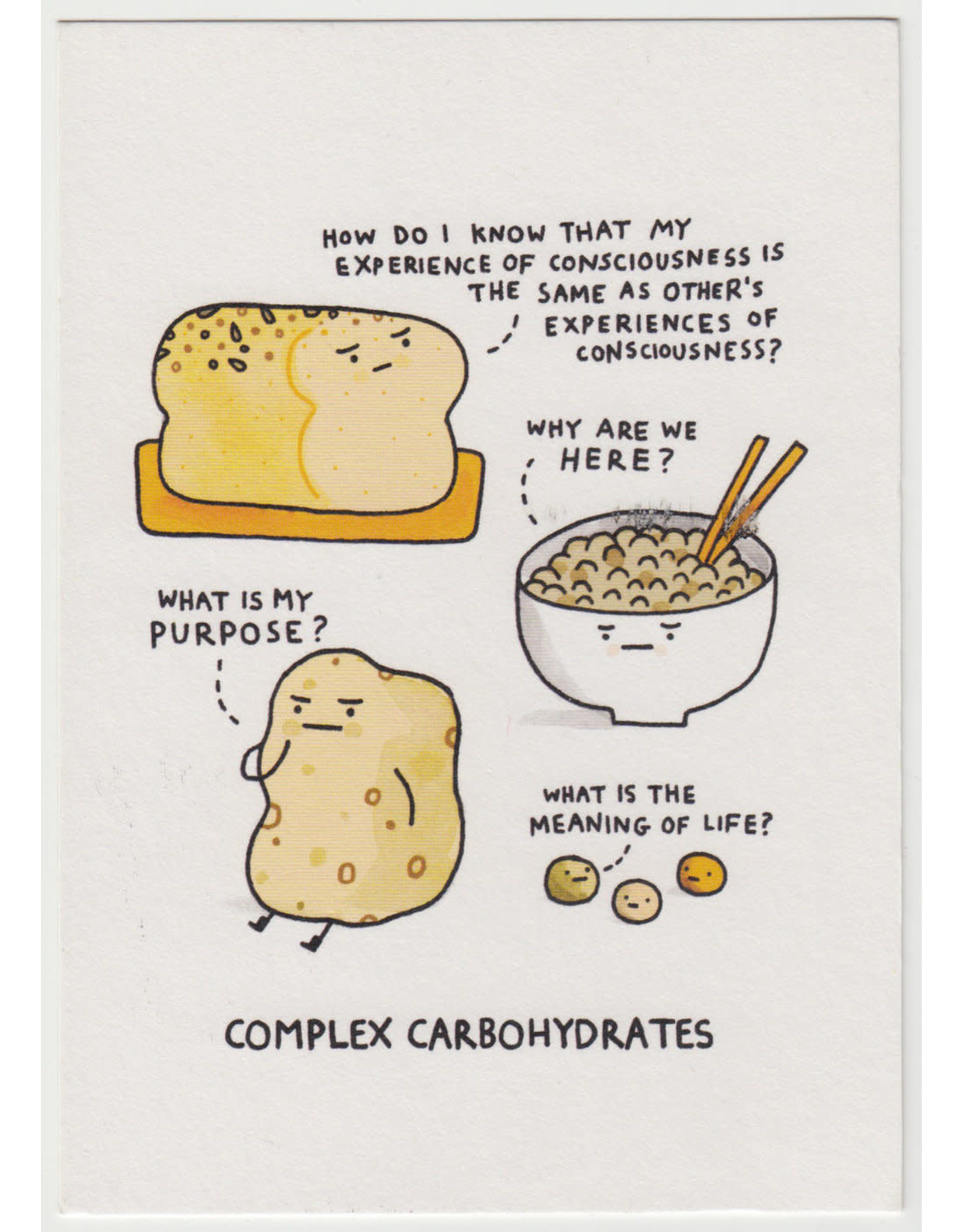 Just Because - Complex Carbohydrates