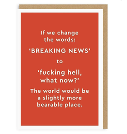 Just Because - Breaking News