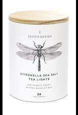 Citronella Sea salt Tea Light Tube - 24