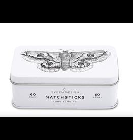 Match Tin - Moth