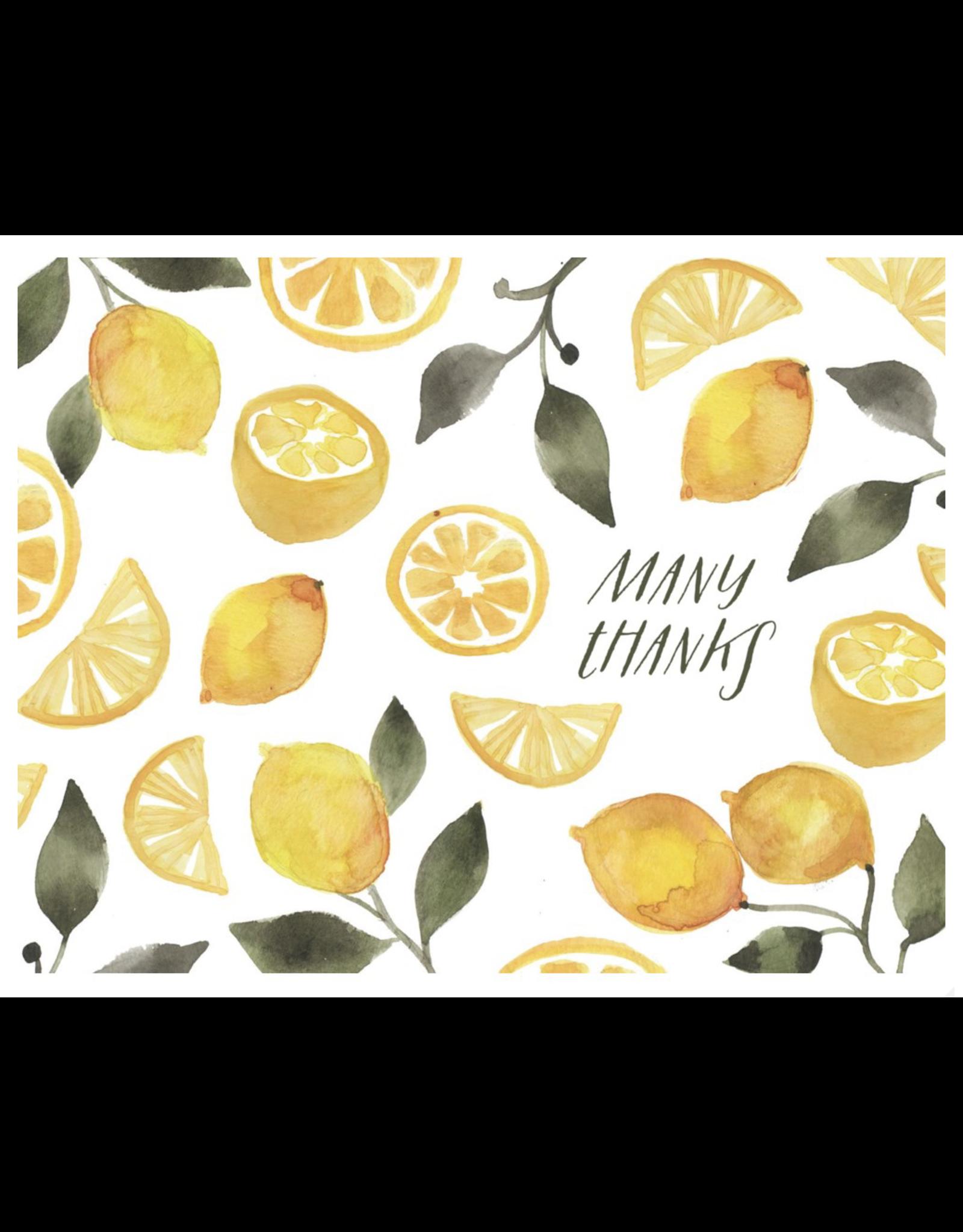 Thank You - Many Thanks Lemons