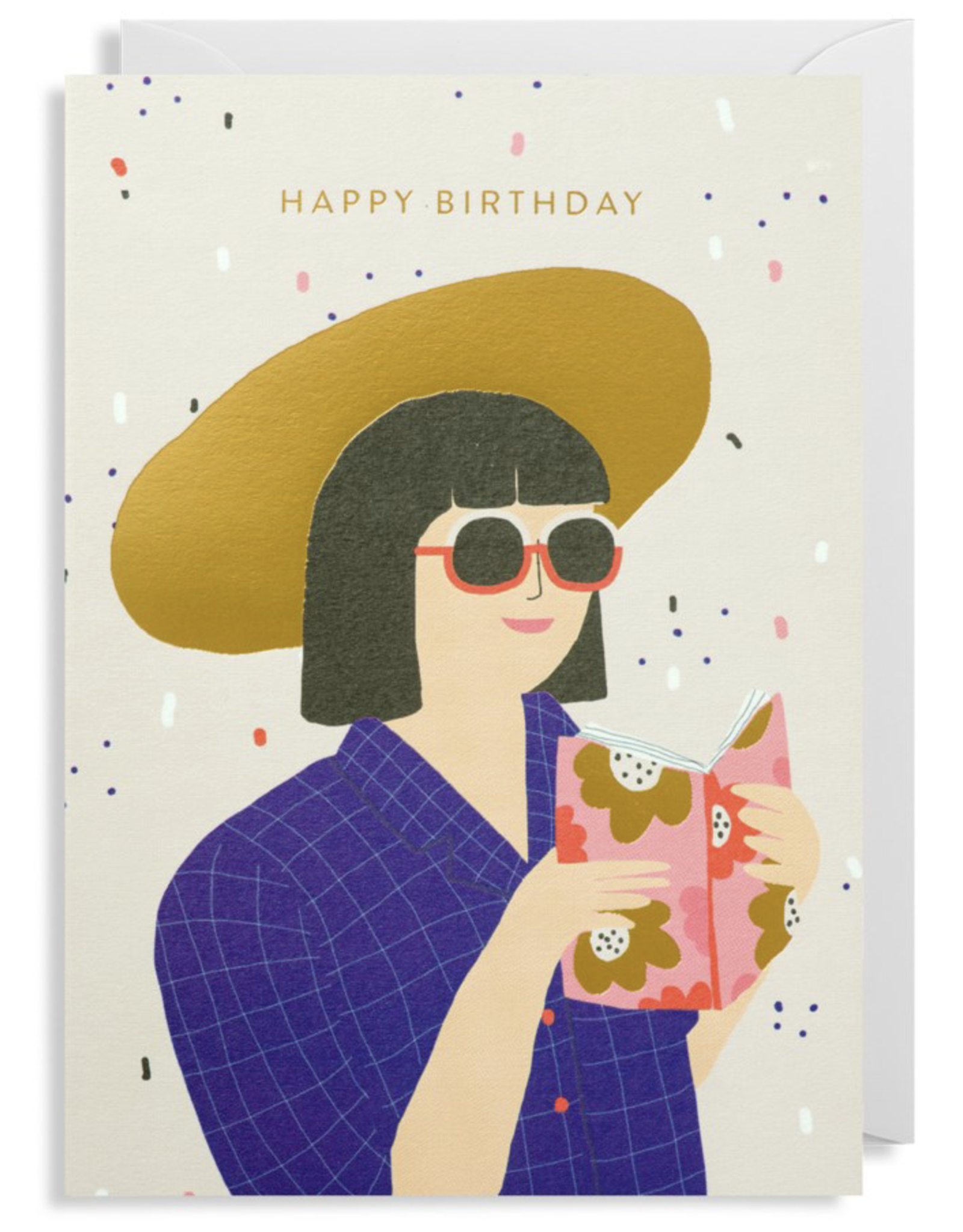 Birthday - Girl with Hat