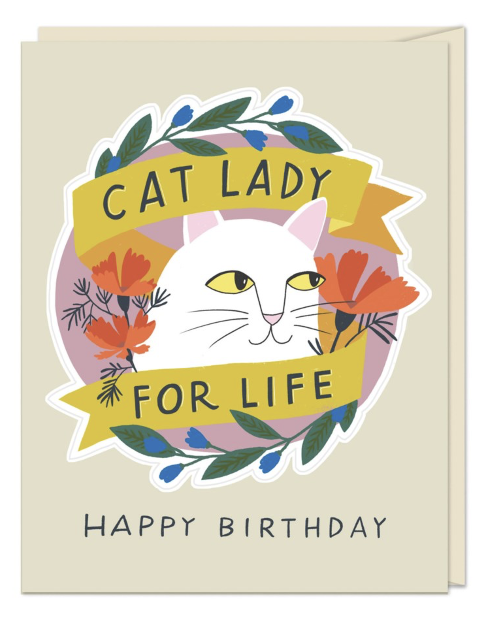 Birthday - Cat Lady For Life