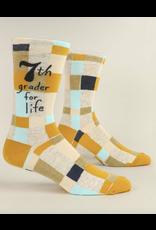 BQ Mens Sassy Socks - 7th Grader