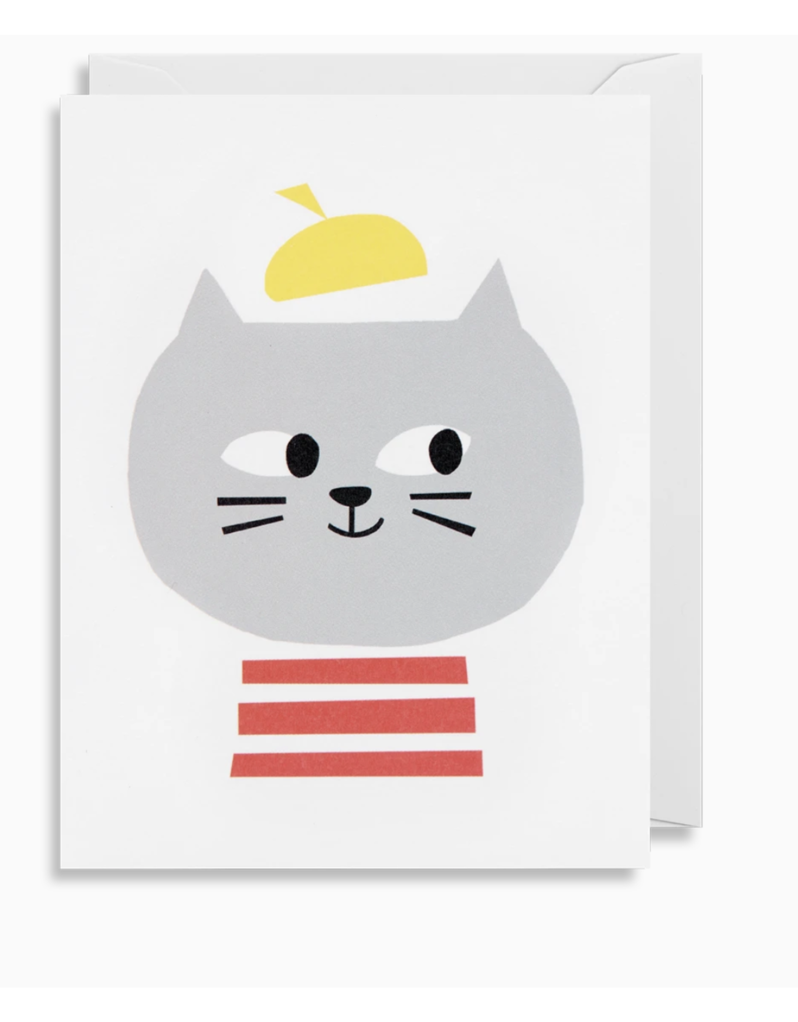 Just Because - Cat with Beret