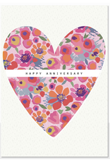 Anniversary - Floral Heart