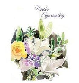 Sympathy - Lily Bouquet