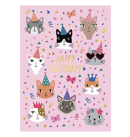 Birthday - Party Cats