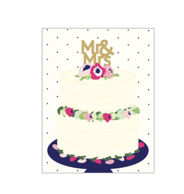 Wedding - Mr. & Mrs. Cake