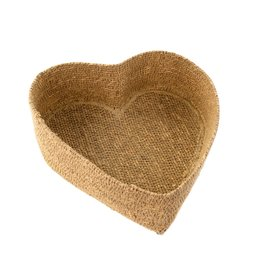 Heart Seagrass basket