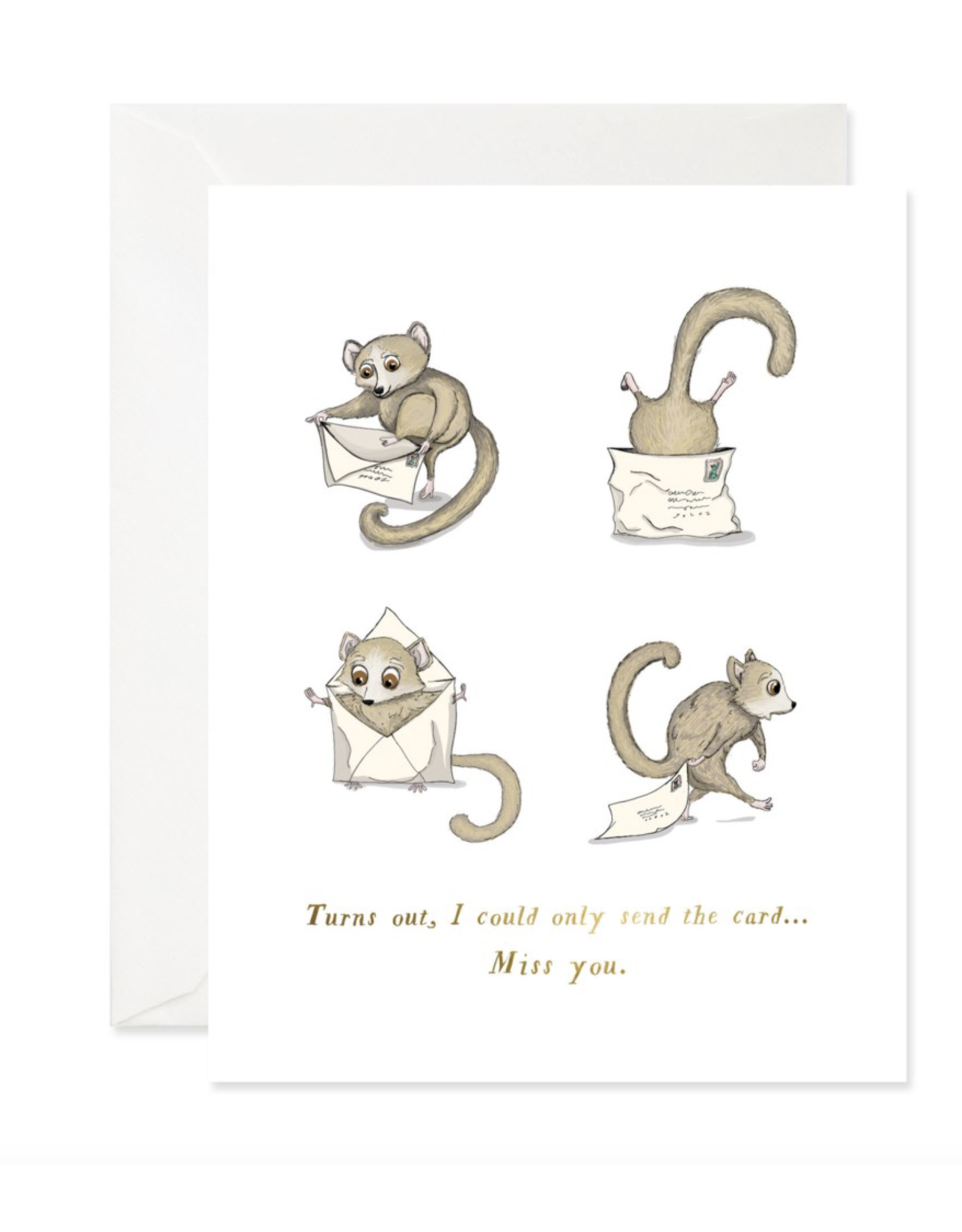 Just Because - I could only send the card