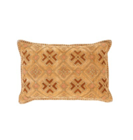 Amira Cushion 16x24 Terracotta