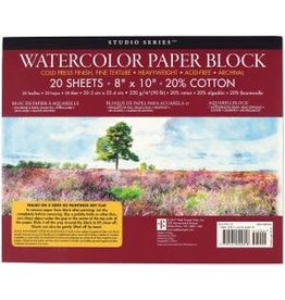 Watercolor Paper Block 20 Sheets