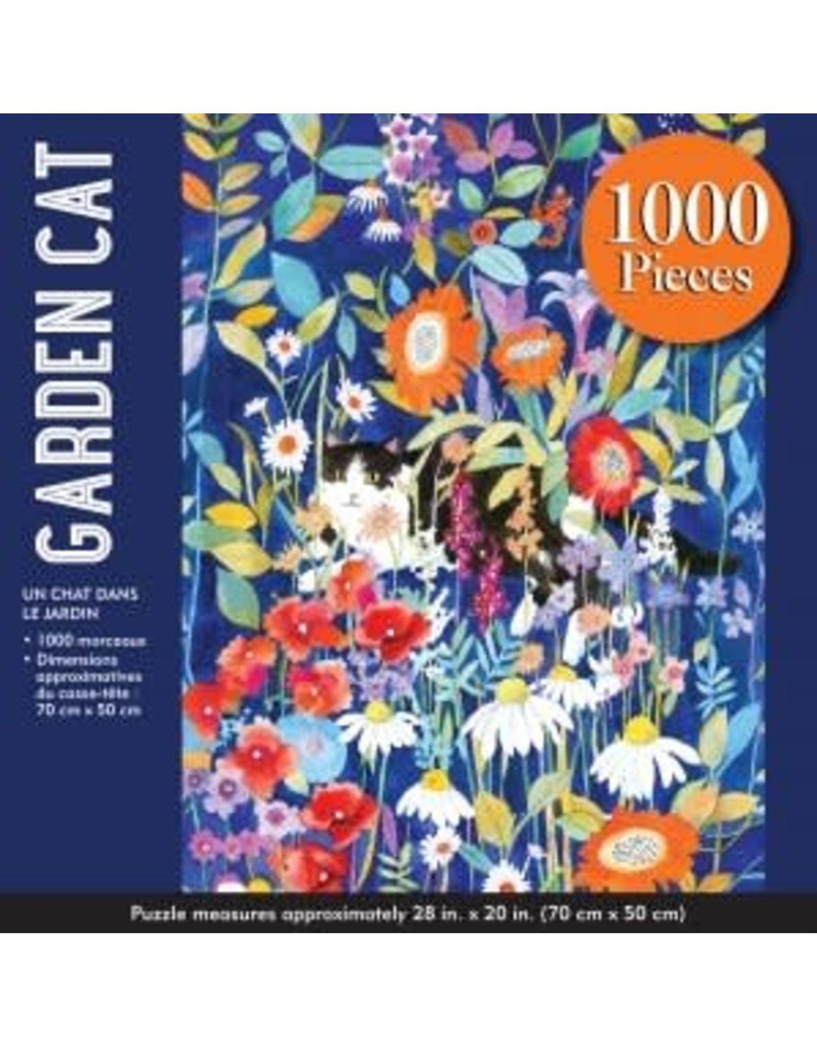 Garden Cat 1000 Piece Puzzle