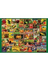 Vintage Seed Packets 1000 Piece Puzzle