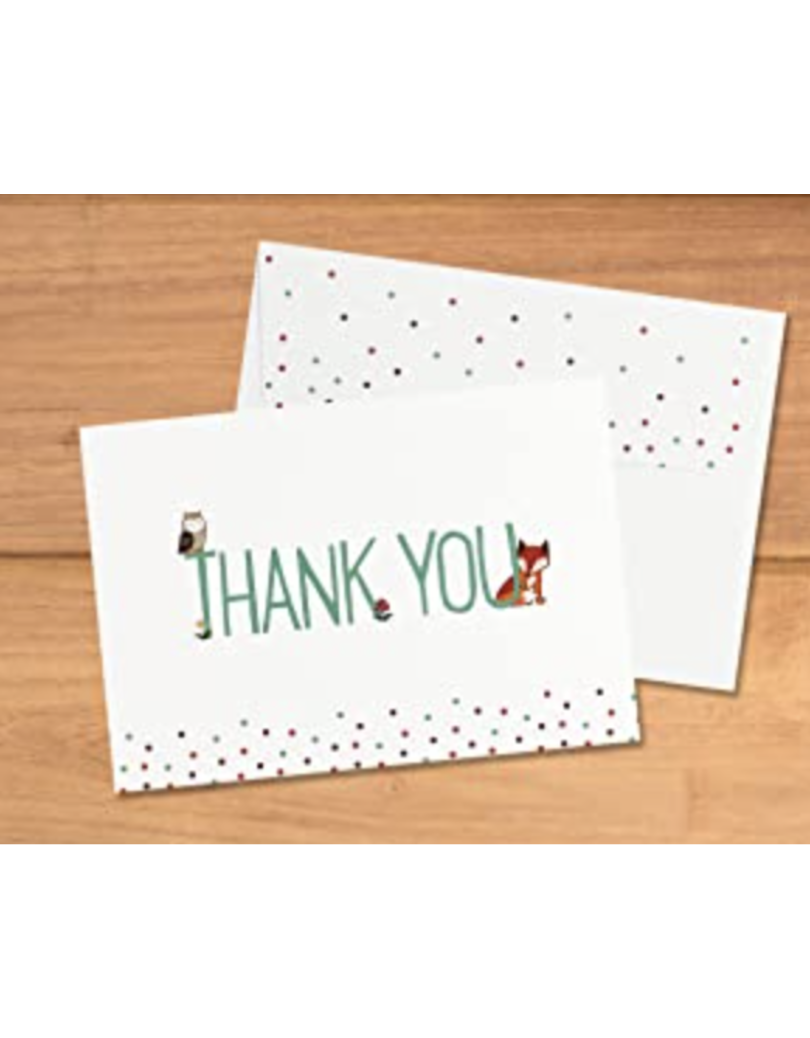 Boxed Thank You Cards - Woodland Friends