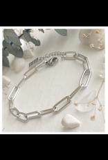 Montmartre Paperclip Chain Bracelet - Silver