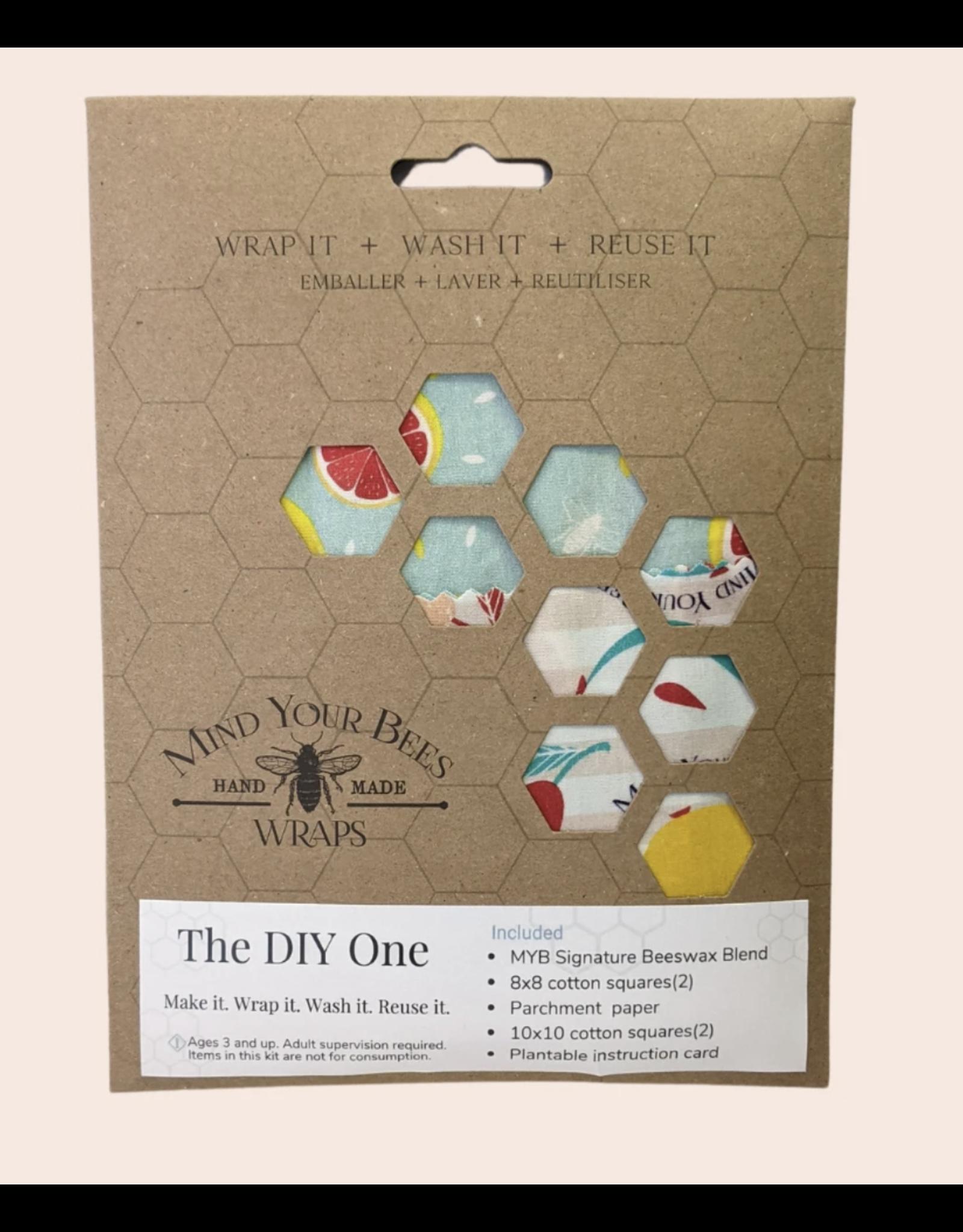 DIY Mind Your Bees Wraps