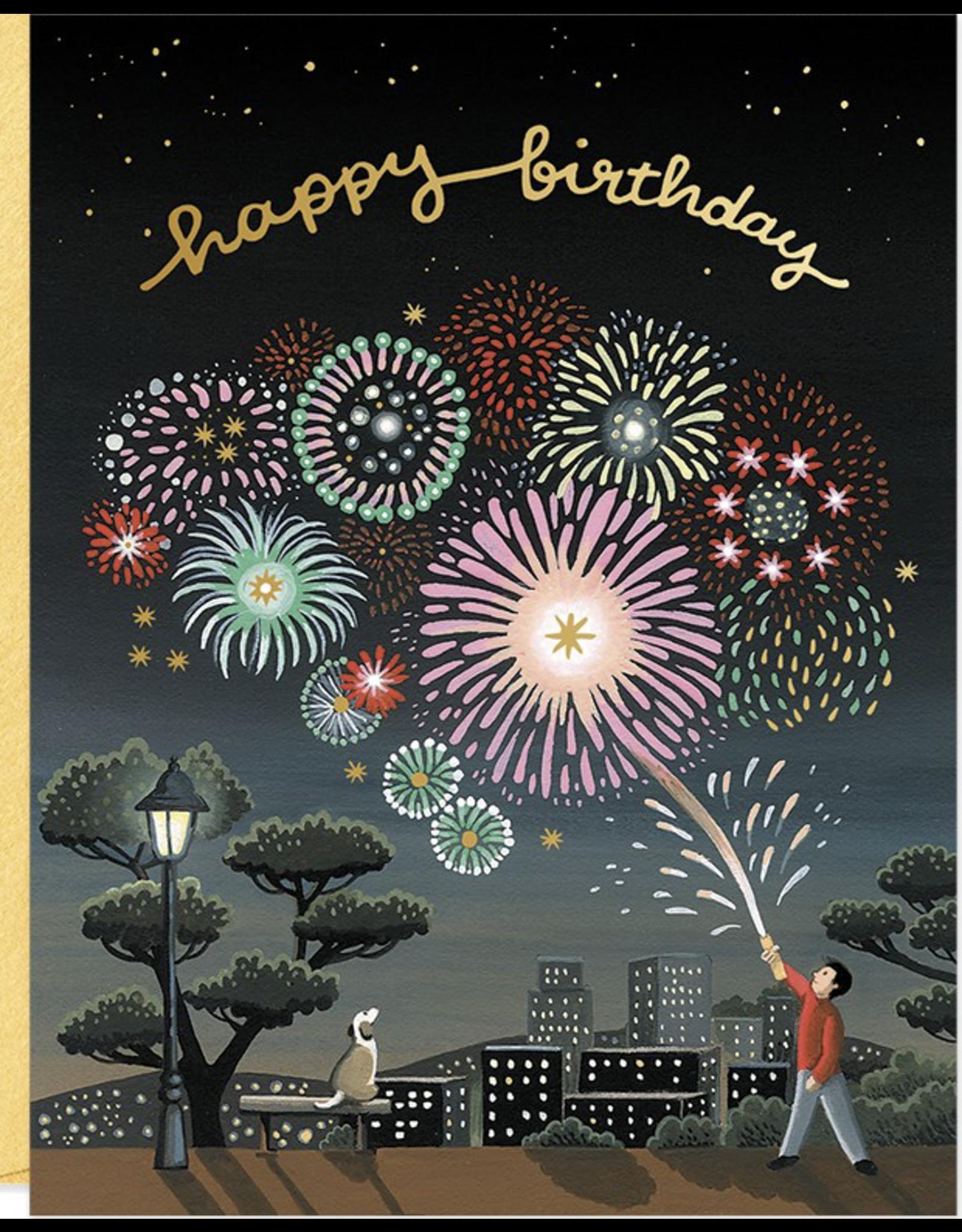 Birthday - Fireworks
