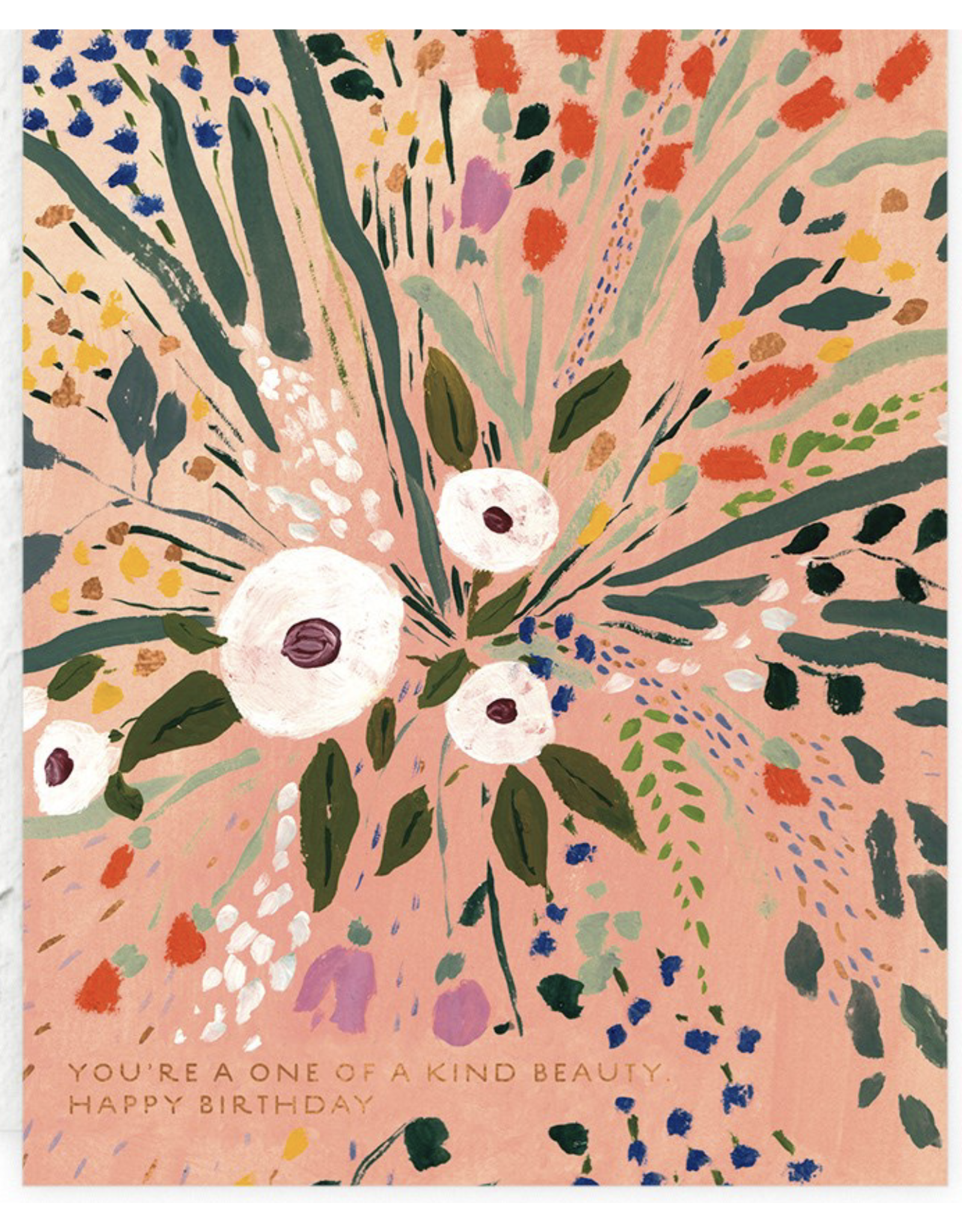Birthday - Bursting Flowers