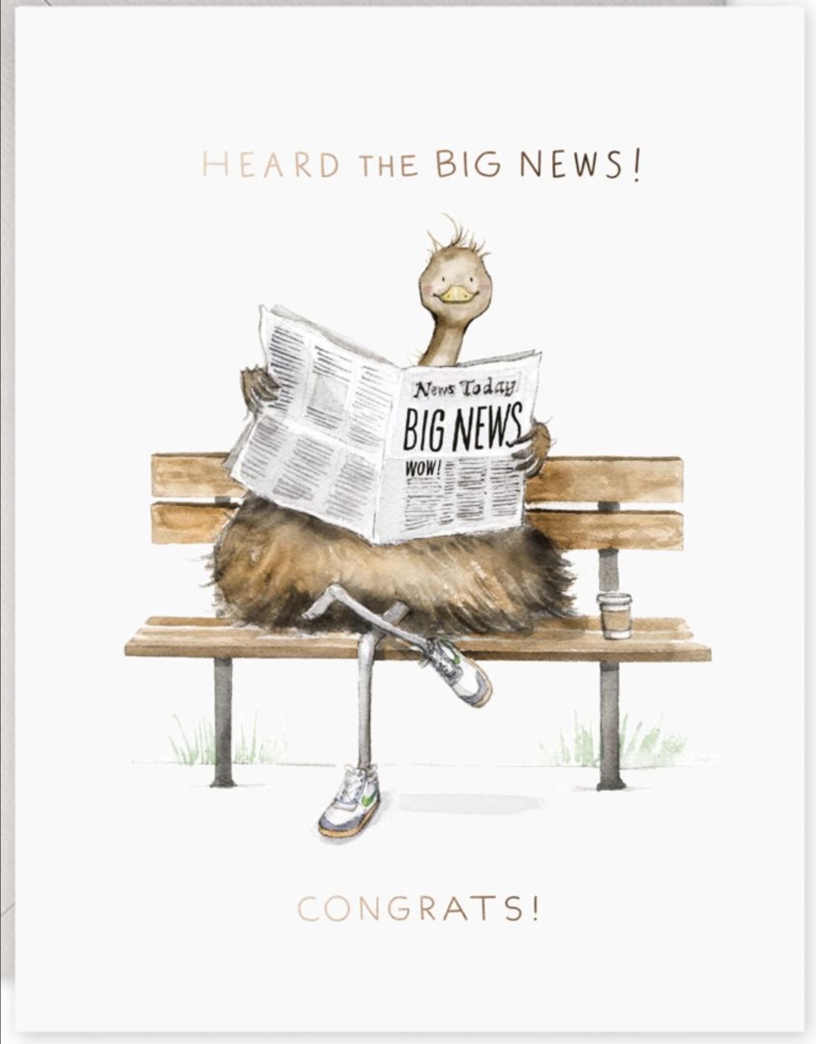 Congratulations - Big News