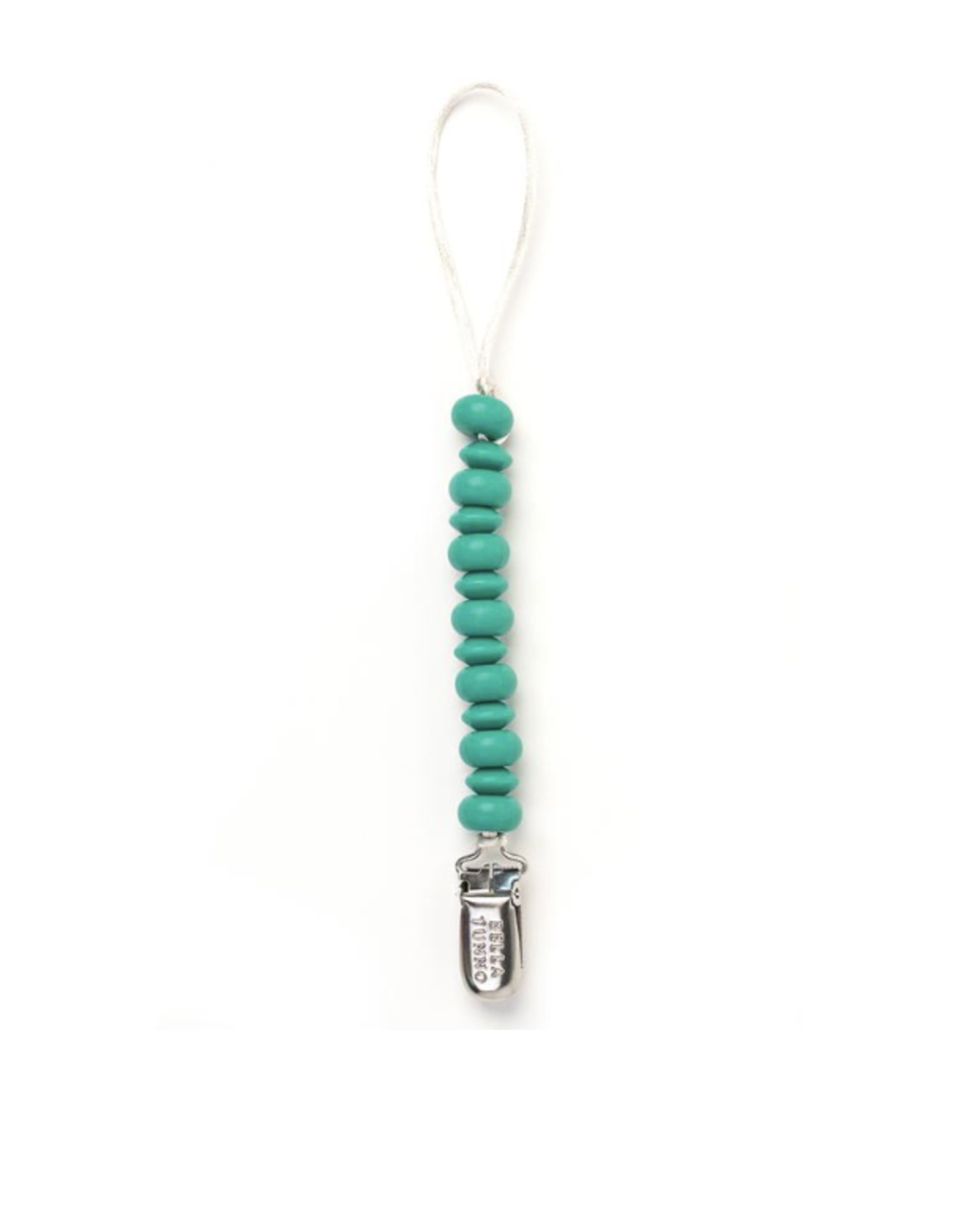 Teal Pacifier Clip