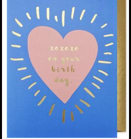 Birthday - Xoxo Birthday Heart