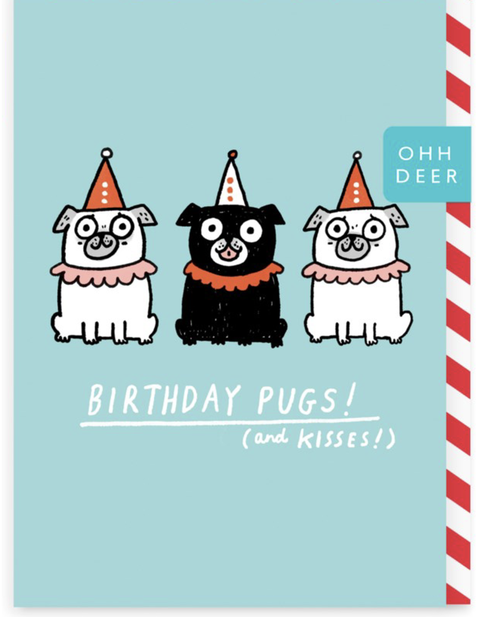 Birthday - Pugs and Kisses