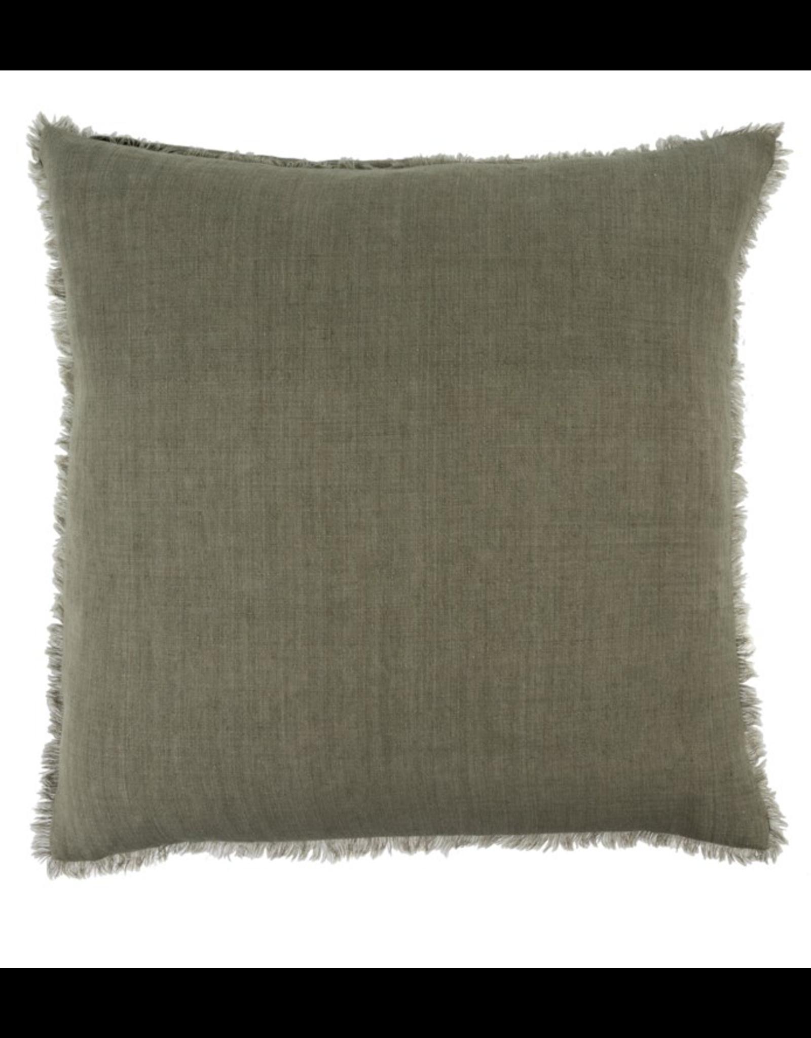 Lina Linen Cushion Laurel 24x24