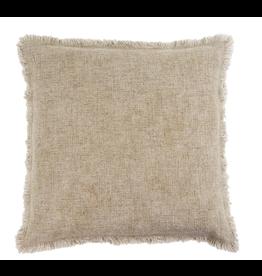 Selena Linen Pillow - Natural 20x20