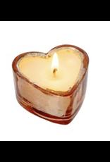 Sweetheart Rose Gold Candle Sm - Orange Blossom