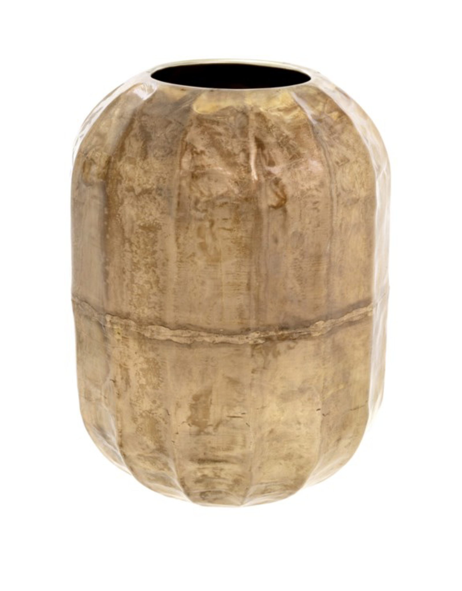 Cobblestone Vase Champagne Blush Large