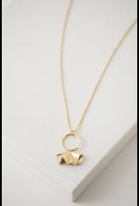 Lover's Tempo Contour Necklace - Gold