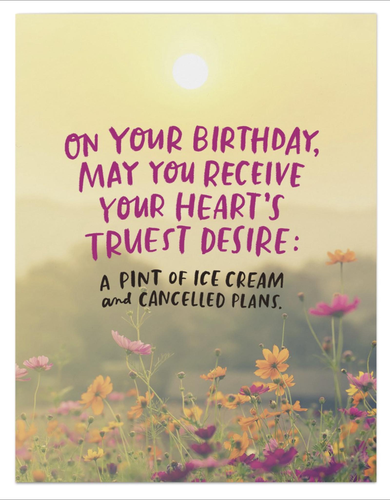 Birthday - Heart's Desire