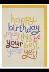 Birthday - Best Year Yet