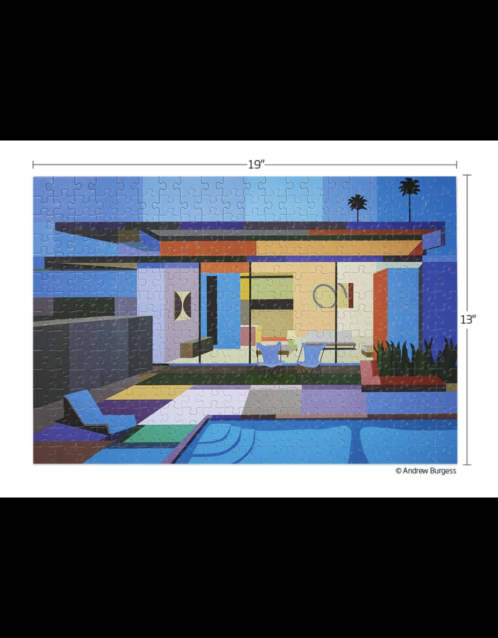Werkshoppe Palm Springs Mid-Century Architecture - 300 Piece Puzzle