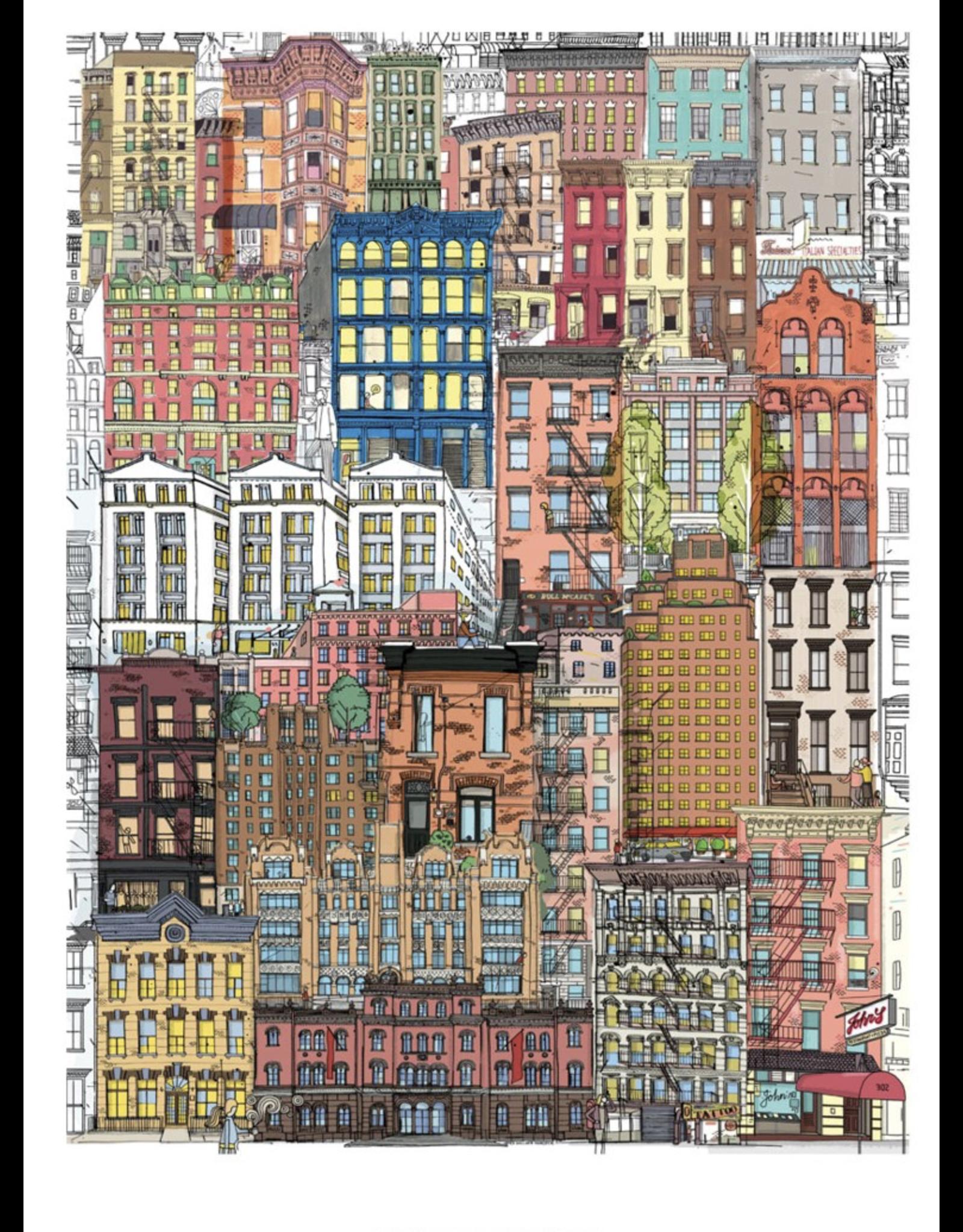 Werkshoppe City Life - 500 Piece Puzzle