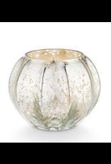 Autumn Sage  Mercury Glass Candle